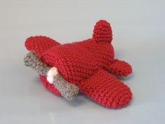 Ravelry: Soft Toy Airplane pattern by Brenna Eaves