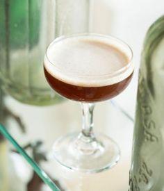 ★★★☆☆ - The Getaway - 1 oz dark rum - 1 oz lemon juice - 1/2 oz rich simple syrup (2:1) - 1/2 oz Cynar - Shake, strain into a chilled coupe.