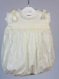 pelele ceremonia bebe beige