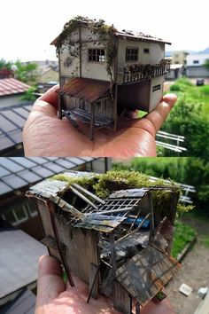 1 million+ Stunning Free Images to Use Anywhere Miniature Crafts, Miniature Houses, Building Art, Model Building, Small World, Corvette Cabrio, Wargaming Terrain, Environment Concept Art, Stop Motion