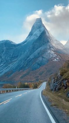mariashotelcheck on Instagram: Peaceful drives through Stefjord, Norway ⛰ 🏨 📲 Tag a friend that has to see this! Follow @mariashotelcheck for more! Follow…