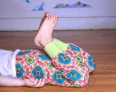 Harem Pants medallions Pink Size 5-6 by MyLittleAura on Etsy