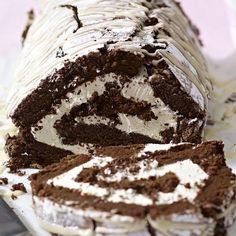 The Great British Bake Off's Mary Berry shares her recipe for a decadent Chocolate and Irish Cream Roulade. One of her favourites from her new cookbook, Mary Berry: Cooks The Perfect