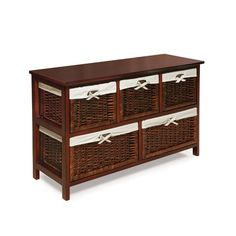 The Badger Basket 5 Basket Storage Unit is a stylish way to organize and hide your things in hallways, foyers, bedrooms, family rooms, and more. It's simple and attractive design is suitable for any age!