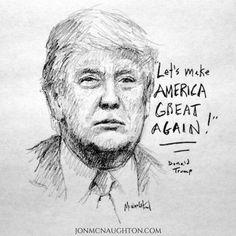 Donald Trump by Jon McNaughton