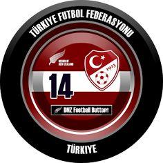 DNZ Football Buttons: Seleção da Turquia
