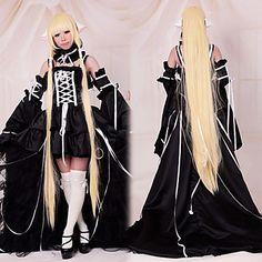 cosplay Kostüm von Chobits Chii deluxe schwarzen Kleid inspiriert - EUR € 78.37