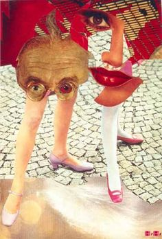 Hannah Hoch ~Grotesque,1963 [also] via Nikki Denton