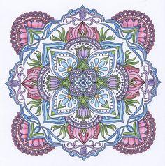 ColorIt Mandalas Volume 2 Colorist: Cathy Cusson #adultcoloring #coloringforadults #mandalas #mandalastocolor Mandala Book, Mandala Art, Mandala Coloring Pages, Coloring Book Pages, Watercolor Mandala, Cool Doodles, Sacred Geometry Art, Mandala Stencils, Sacred Symbols