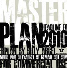 Шрифт - Masterplan