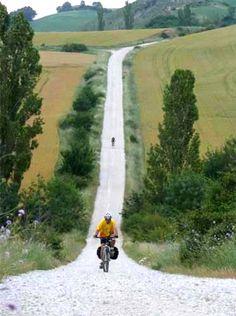 The Way:  Biking the Camino de Santiago in Spain.  It's on my bucket list.  Who wants to go?