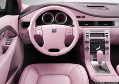 Pin By Renee Miller On Cars Vehicles Volvo Pink Car Interior Ford Raptor, G Wagon, My Dream Car, Dream Cars, Pink Car Interior, Interior Photo, Boat Interior, Interior Paint, Mercedes Benz