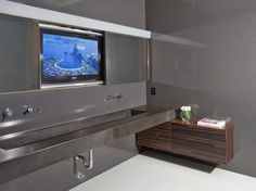 Sink With TV