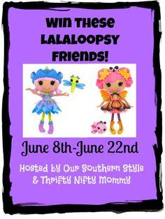 Lalaoopsy Giveaway 2