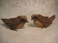 Origami Kids webiste. Sparrows by PhillipWest.