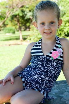 Starfish Girl/Toddler Tankini  - Lemons & Limes Kids Swimwear- 50% OFF! Only $31