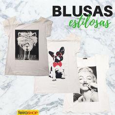 As blusas básicas com estampa na frente prometem ser suas maiores aliadas em looks casuais. Aposte em sua versão favorita combinando com shorts ou saias para dias de verão. ❤️Onde encontrar: Letícia Rios (Rua Rio de Janeiro, 788 - Loja 18 - Centro) #feirashop #Lindadefeirashop #moda #modabh #modamineira #modaparameninas #look #lookdodia #trend #tendencia #style #estilo #Blusa #blusas #estampa #estilosas #bh #belohorizonte #tshirt