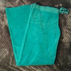 Juicy Couture Pants - Juicy couture teal pants