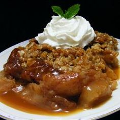 Caramel-Apple Crisp - Allrecipes.com