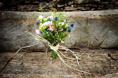 Countryside Bouquet with Thistles