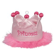 Plush Princess Tiara Balloon Weight | Princess Party Decorations