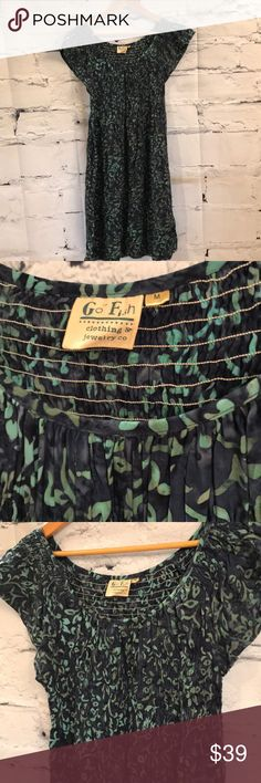South Florida Beach GO FISH Batik Dress South Florida Beach GO FISH Batik Dress SOUTH BEACH Dresses