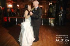 "Melanie and her dad chose ""My Girl"" by the Temptations for their special dance."