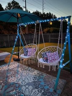 Backyard Projects, Outdoor Projects, Home Projects, Outdoor Decor, Outdoor Living, Outdoor Spaces, Outdoor Life, Backyard Swings, Backyard Landscaping