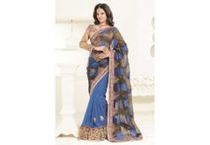 Women Royal Blue n Black Saree PRICE -: 5000	 IBS Rs. 2570 49%Off http://www.ibscart.com/addtocart/15083/Women-Royal-Blue-n-Black-Saree