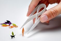 Paper Tweezers: 1/100 ARCHITECTURAL MODEL ACCESSORIES SERIES Special