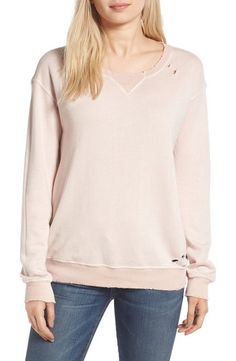 On SALE at 40% OFF! joni distressed sweatshirt by n:PHILANTHROPY. Distressed edges and ragged holes age this slouchy French terry pullover so it looks and feels like an old favorite f...