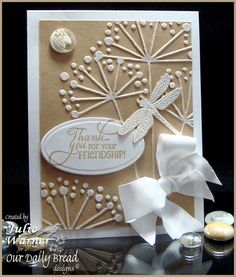memory box dies cards | Repinned from handmade cards by Sue