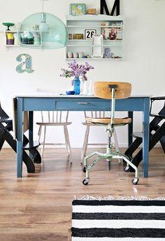mesa-tocinera-azul-comedor