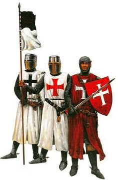 Templar Knights from different times
