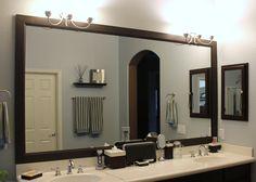 Fascinasting Fascinasting Diy Bathroom Mirror Frame Ideas DIY Bathroom Mirror Frame | Bathroom Ideas | Pinterest