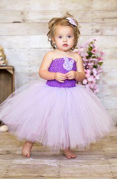 Newborn - Size 9 Lavender Purple Easter Tutu Dress