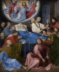 The Dormition - Hugo van der Goes - 1470 - 1472