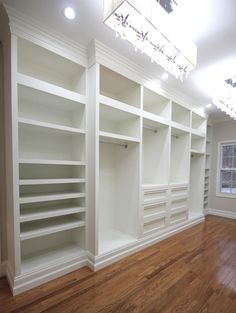 Built In Master Closet want it.  need new house for it.