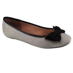 Sapato Vizzano 1155.136 - Prata (Tecido Metal Canelado) - Calçados Online Sandálias, Sapatos e Botas Femininas | Katy.com.br