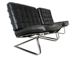Mies van der Rohe Tugendhat lounges Knoll early examples Eames