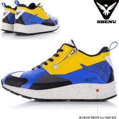(SBENU) B(NE)-003 YE NEUTH Men Women Sneakers Running Elevator Shoes AOA IU KPOP #SBENUhellobincom #RunningFashionSneakersShoes