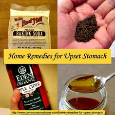 7 Home Remedies for an Upset Stomach ~ Help for those Tummy Aches