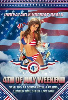 july 4th weekend in las vegas