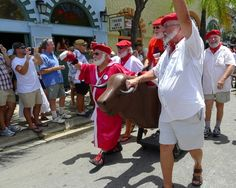 The boys of summer: Papas on parade in Key West, Hemingway Days