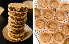 Skip the Nestle Crunch bars, and get your crunch from these No-Bake Quinoa Peanut Butter Crunch Cups.