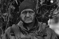 Ukrainian soldier who has broken out of Debaltseve. 18.02.2015