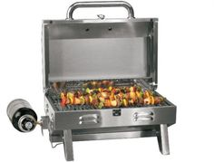 Cabela's provender top stainless steel grill