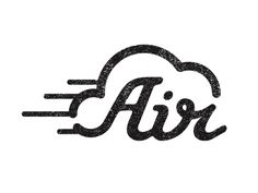 Air logo by Benjamin Colar on Dribbble