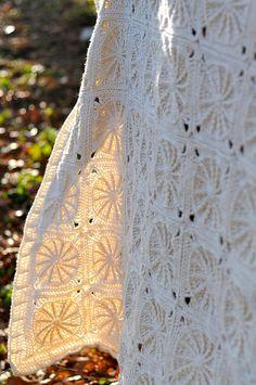 sunny spread - crochet blanket