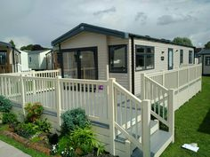 Fensys premium grey deck board at Lawns caravan show Plastic Fencing, Decking Suppliers, Caravan Holiday, Led Manufacturers, Lawns, Mobile Homes, My Happy Place, Curb Appeal, Swift